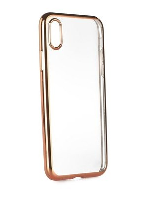 POWERTECH Metal TPU για iPhone X/Xs, Rose Gold